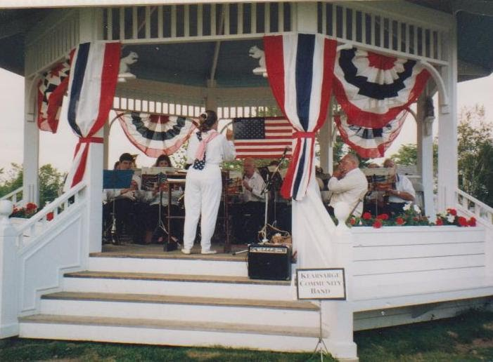 First formal Mary D. Haddad Bandstand Concert, New London, 2 July 1993 Gerri Veroneau, conductor